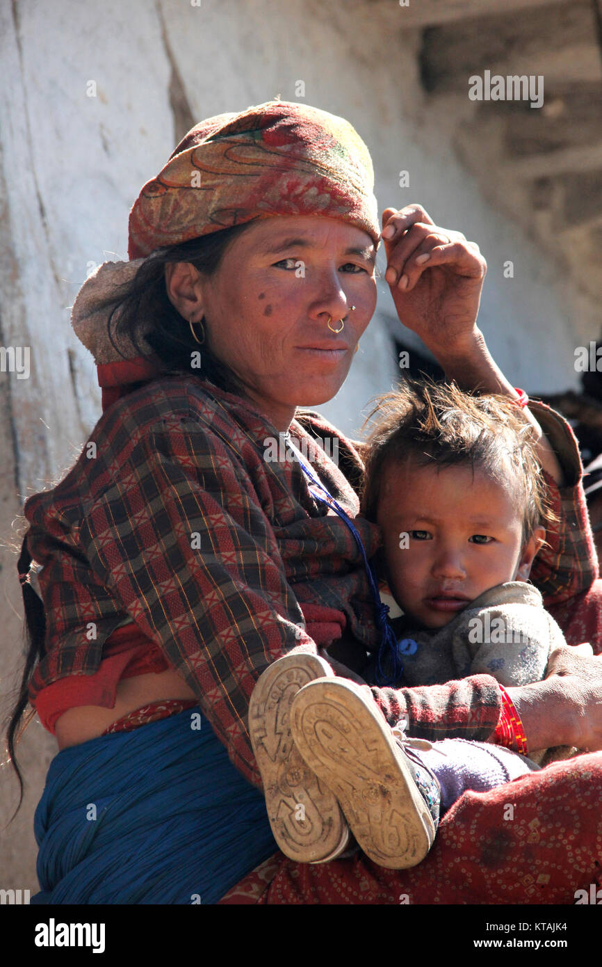 An Appraisal of the Maternal Mortality Decline in Nepal - Stock Image