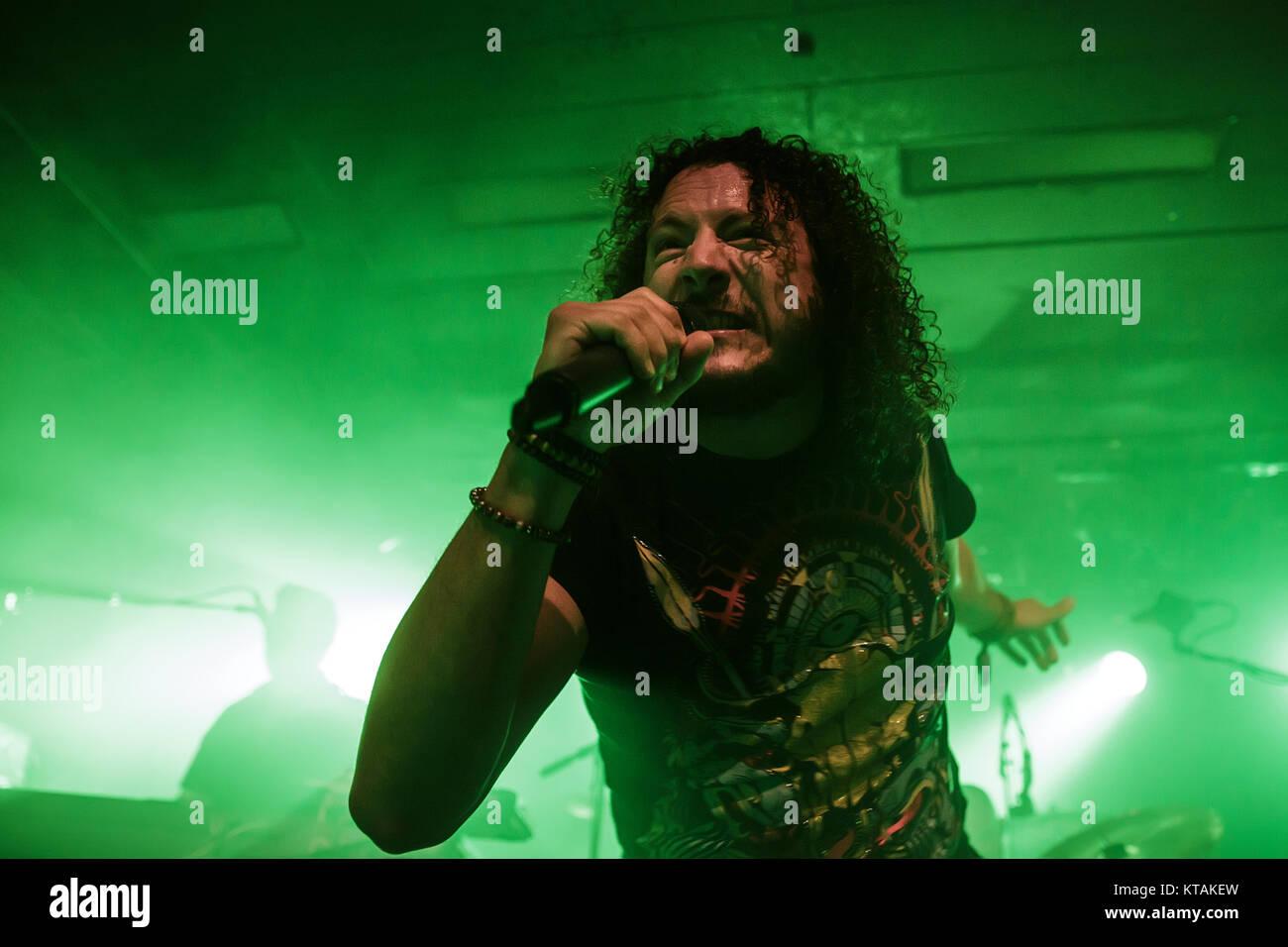 The British Progressive Metal Band Haken Performs A Live Concert At