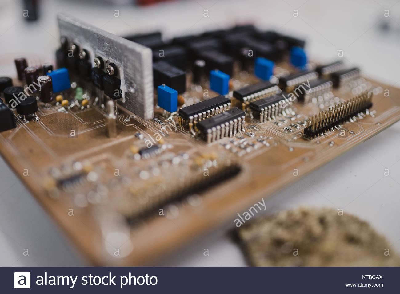 Electronics Breadboard Stock Photos & Electronics Breadboard Stock ...
