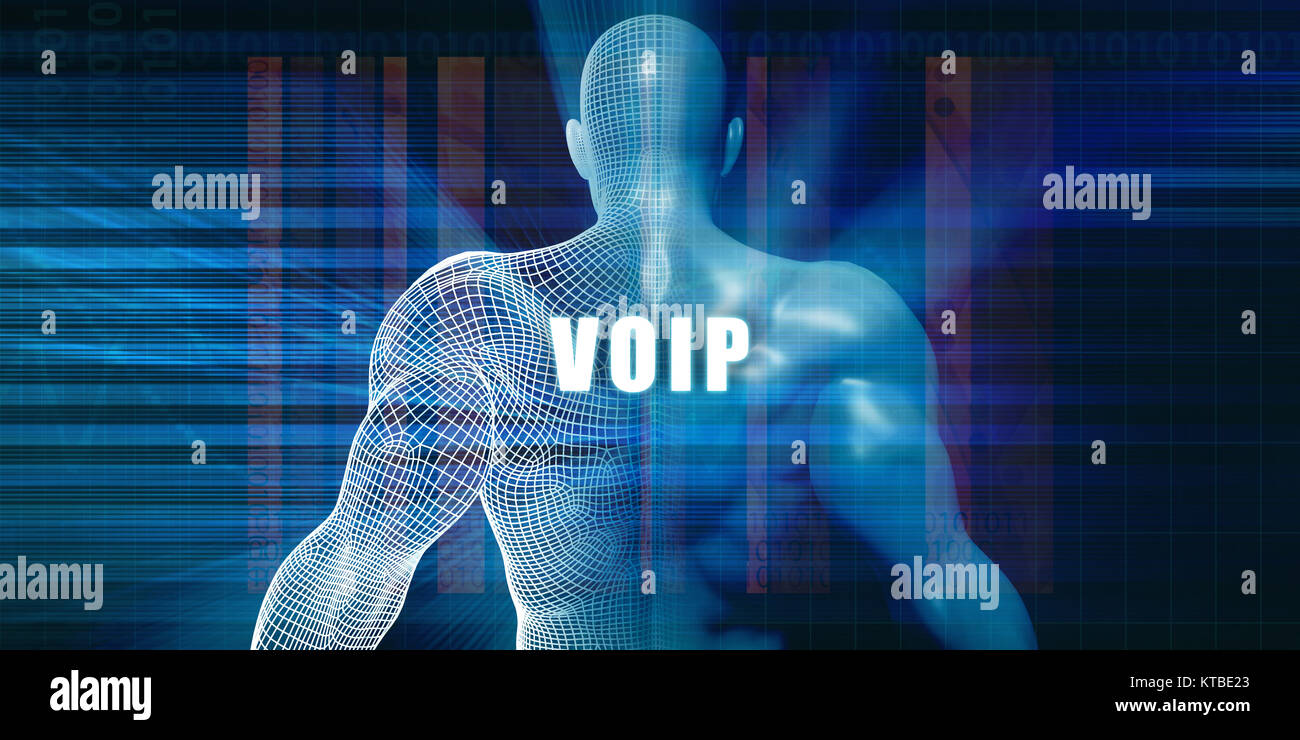 Voip - Stock Image