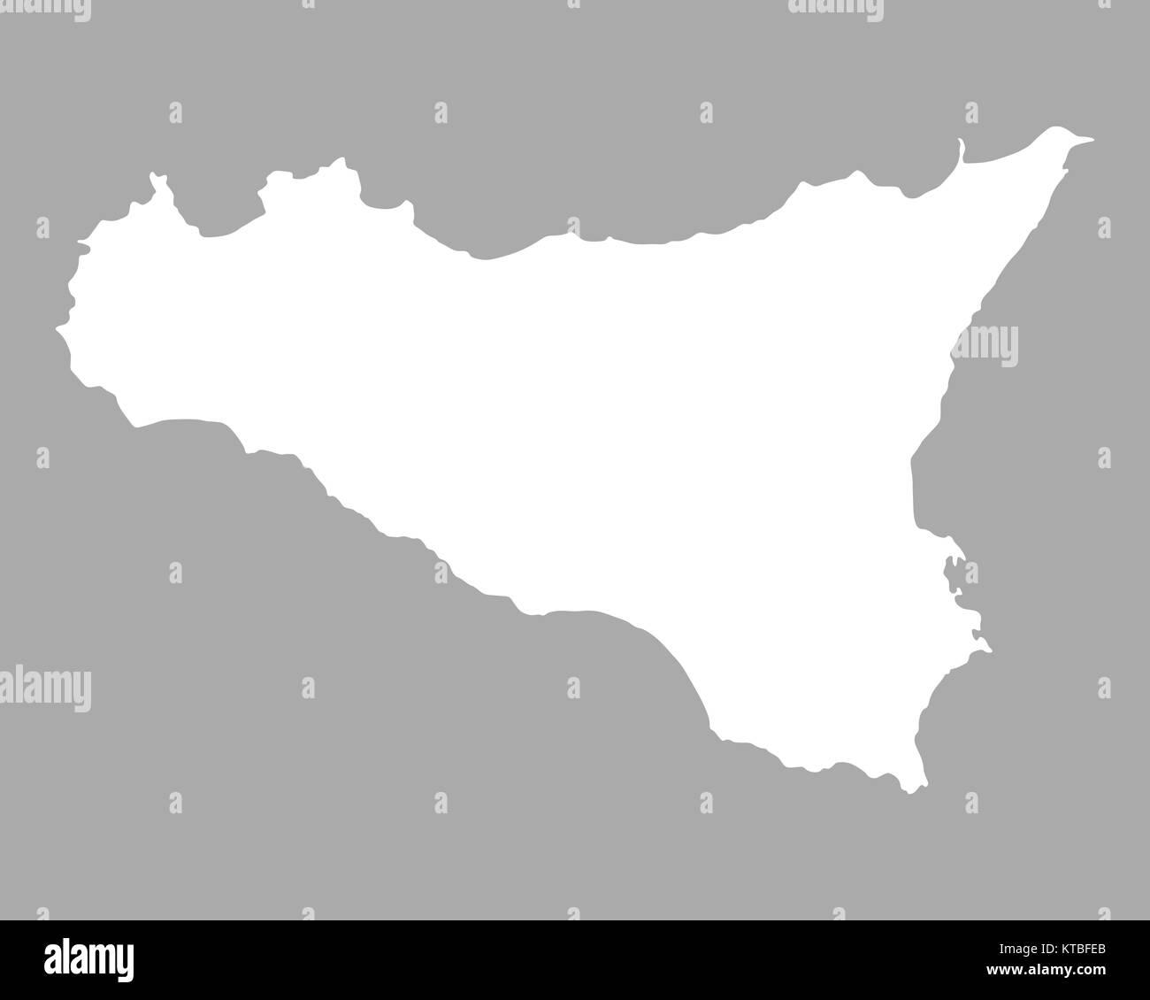 karte von sizilien Karte von Sizilien Stock Photo: 169898691   Alamy karte von sizilien