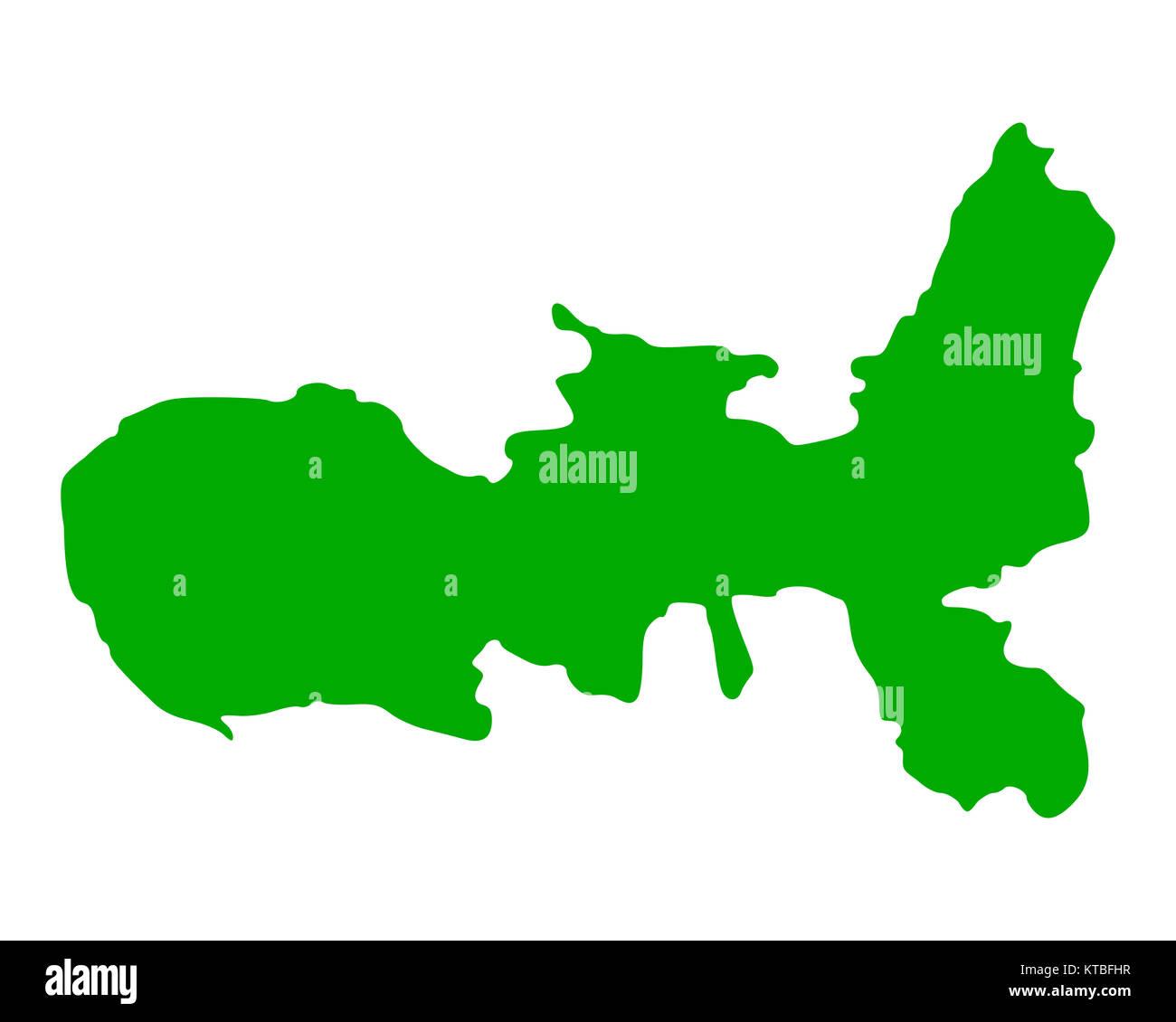 Elba Karte.Karte Von Elba Stock Photo 169898787 Alamy