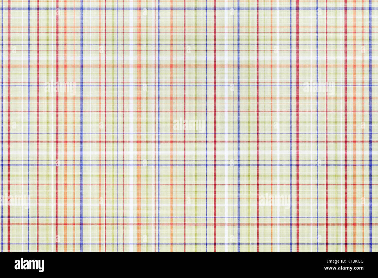 Close up of plaid pattern paper, texture background - Stock Image