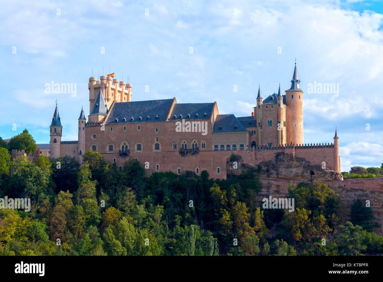 Alcázar de Segovia. Castilla León. España. Ciudad patrimonio de la humanidad. Unesco. - Stock Image