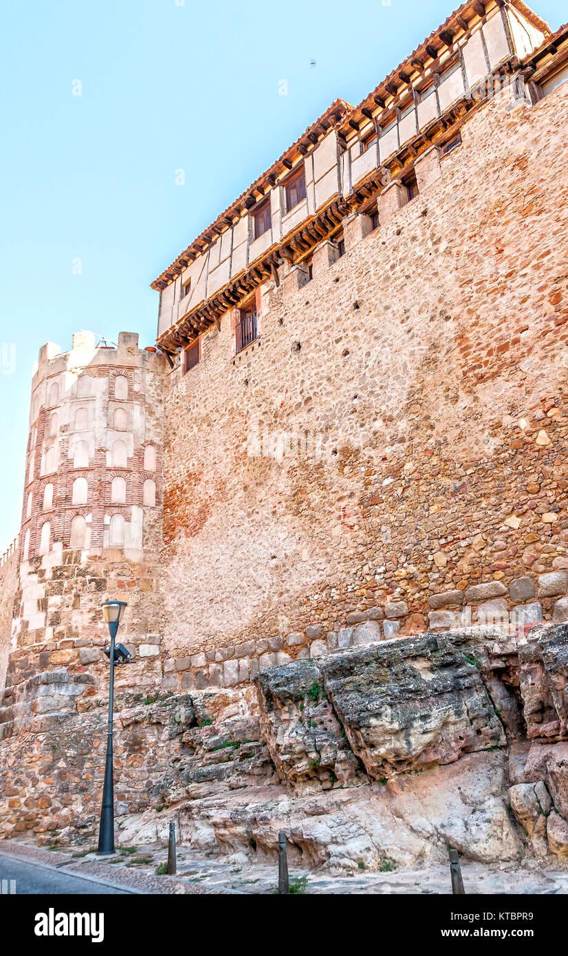Murallas. Segovia. Castilla León. España. Ciudad patrimonio de la humanidad. Unesco. - Stock Image
