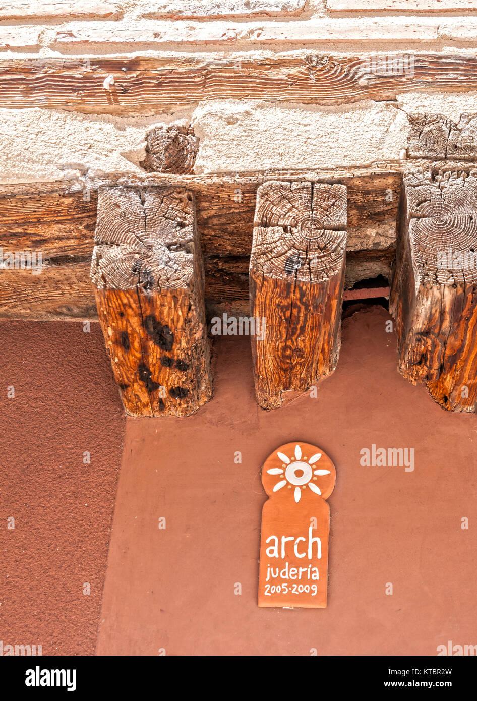 Judería. Segovia. Castilla León. España. Ciudad patrimonio de la humanidad. Unesco. - Stock Image