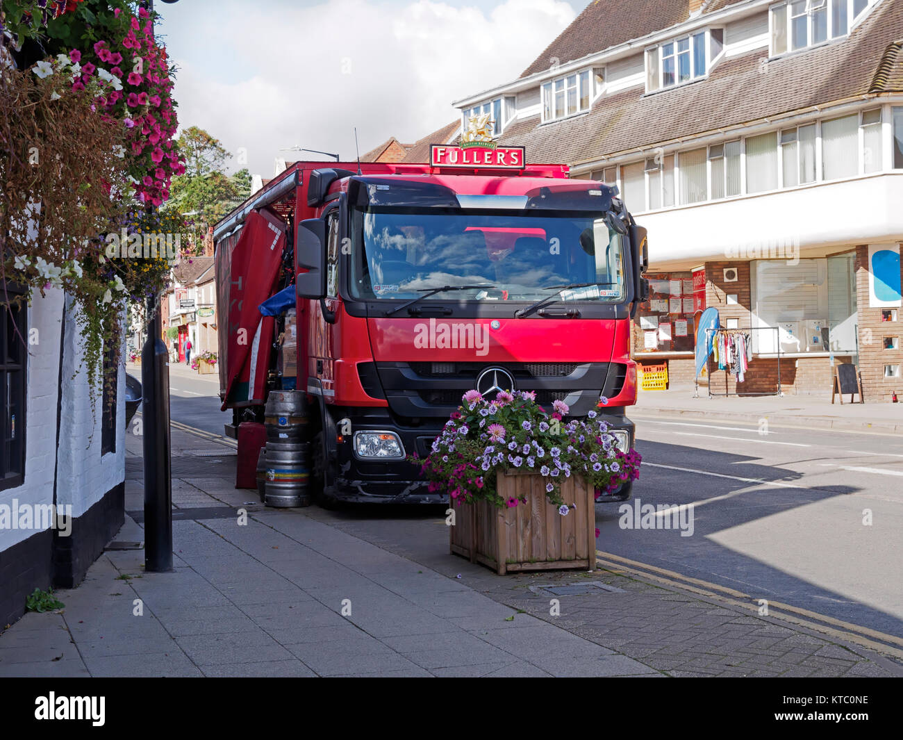 Red Truck Beer Stock Photos & Red Truck Beer Stock Images - Alamy