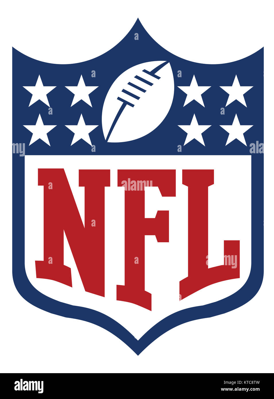 nfl    National Football Conference - Stock Image