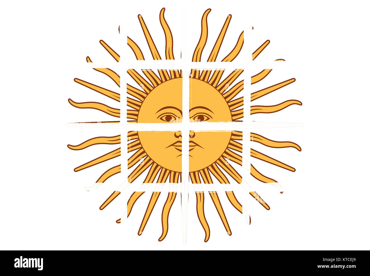 Inca Sun God Image Stock Photos Inca Sun God Image Stock Images