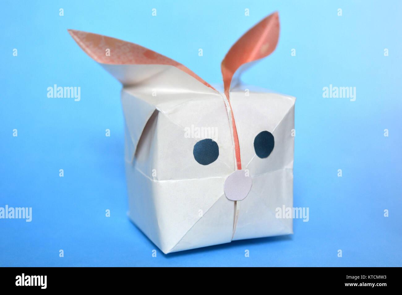 Origami Balloon Bunny | Origami balloon, Origami, Balloons | 954x1300