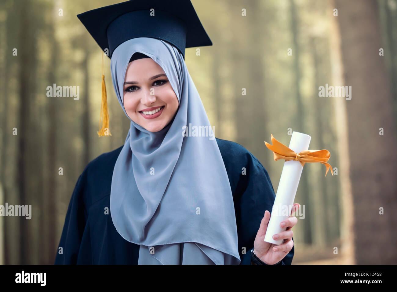 181288635ed Muslim Graduation Stock Photos   Muslim Graduation Stock Images - Alamy