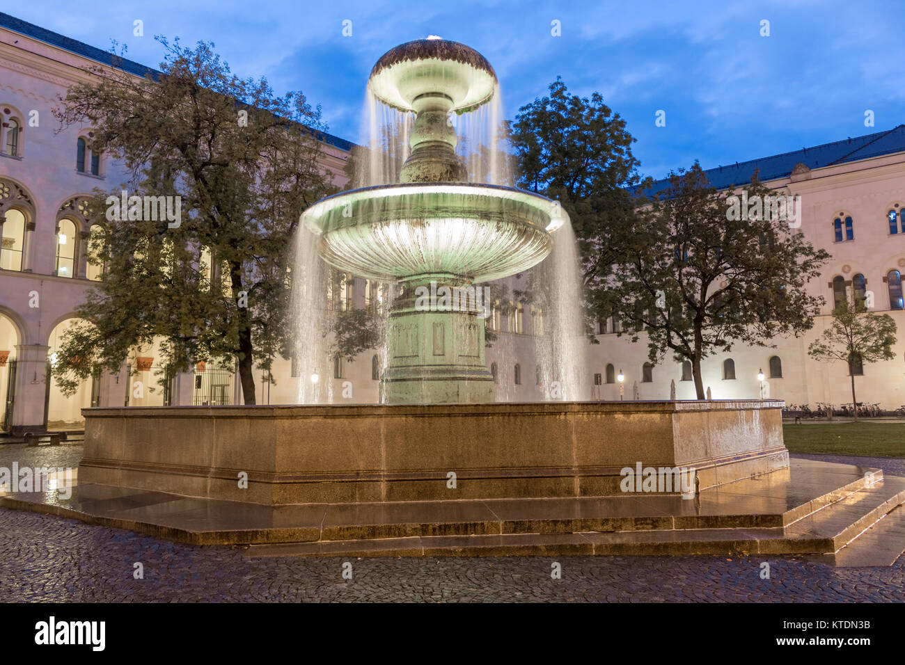 Ludwig Maximilian University Of Munich Stock Photos