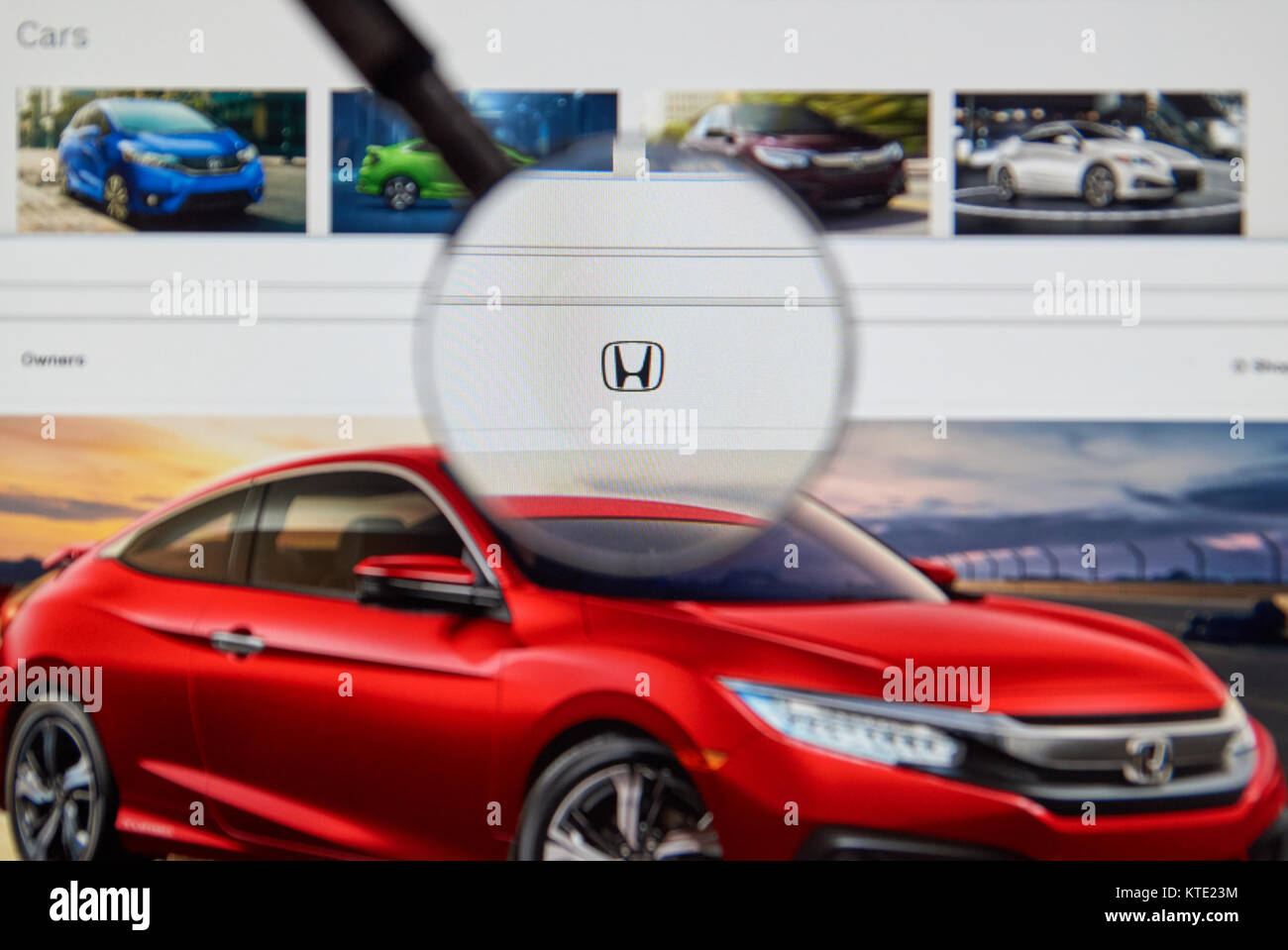 Honda Motor Company Stock Photos Images
