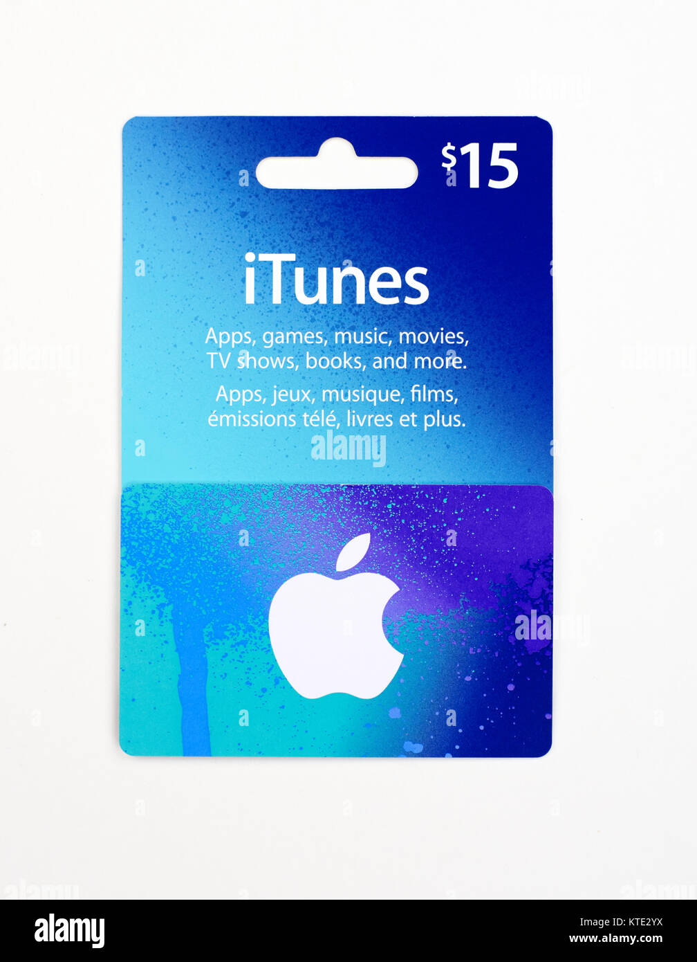 Itunes Gift Card Stock Photos & Itunes Gift Card Stock