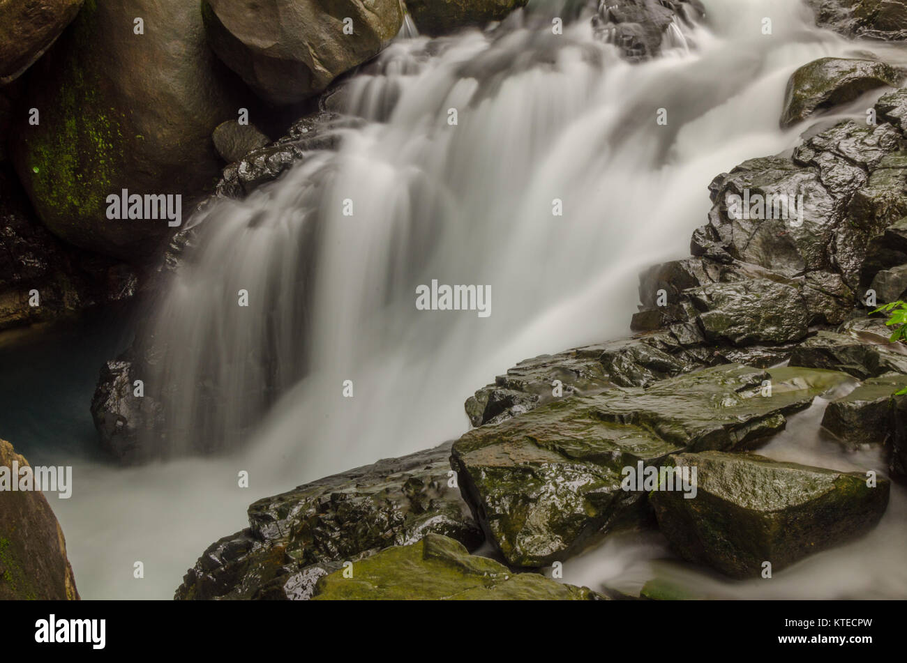 Nagarmadi Water Falls, Chendia, Karnataka, India - Stock Image
