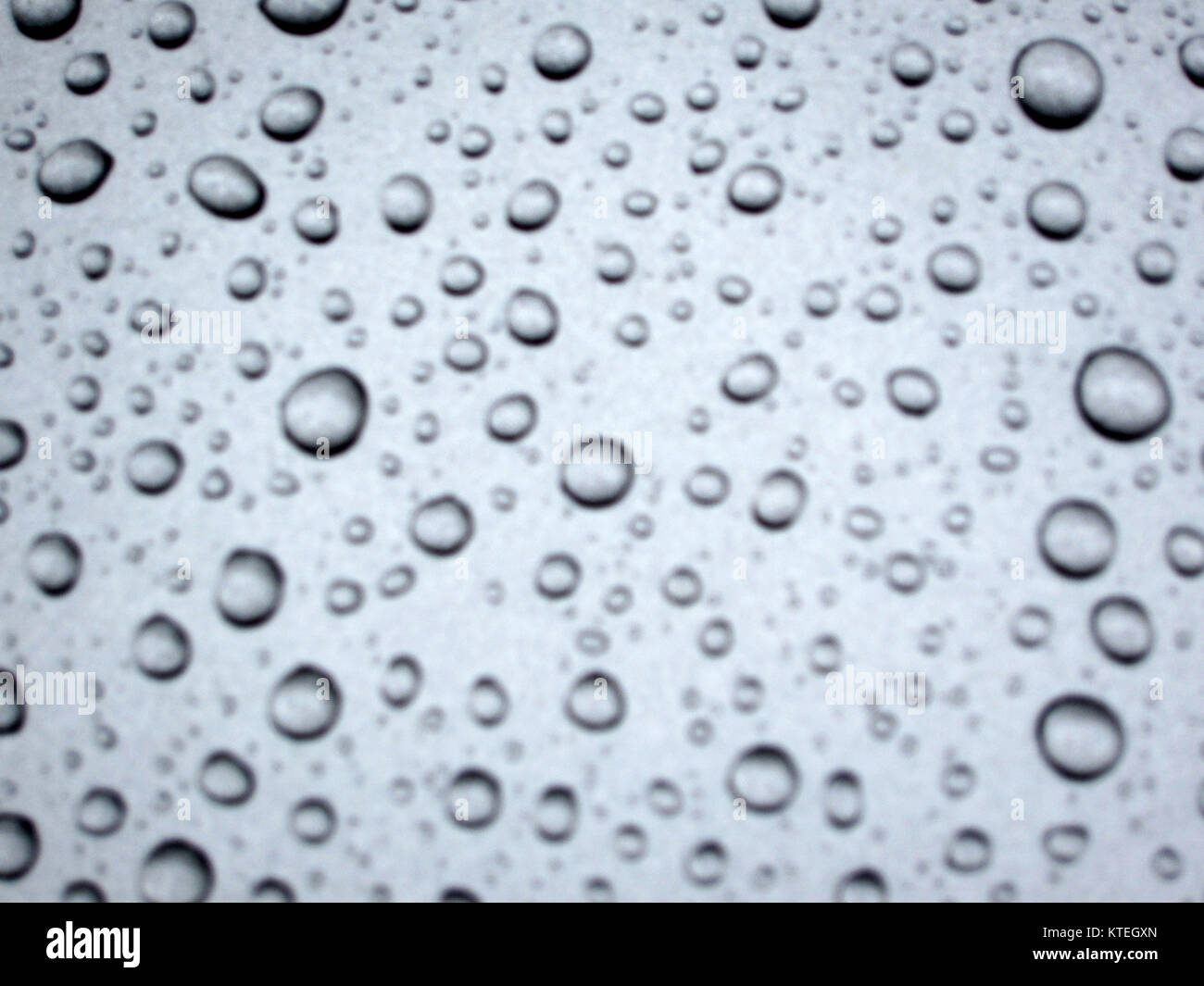 Abstract Blur Image Of A Water Bubbles On A Silver Background Stock Photo Alamy