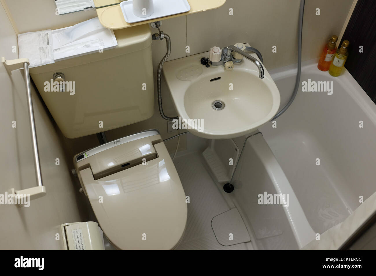 Compact Living In Japan Some Apartment Rooms And Hotel Have Bathrooms This Small