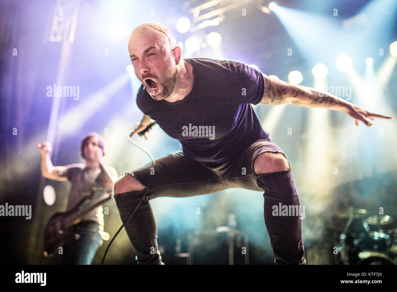 d53aaafd1e4 The American Christian metalcore band August Burns Red performs a live  concert at the Norwegian music