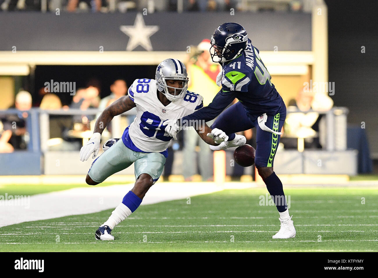 Arlington Texas Usa 24th Dec 2017 Dallas Cowboys Wide