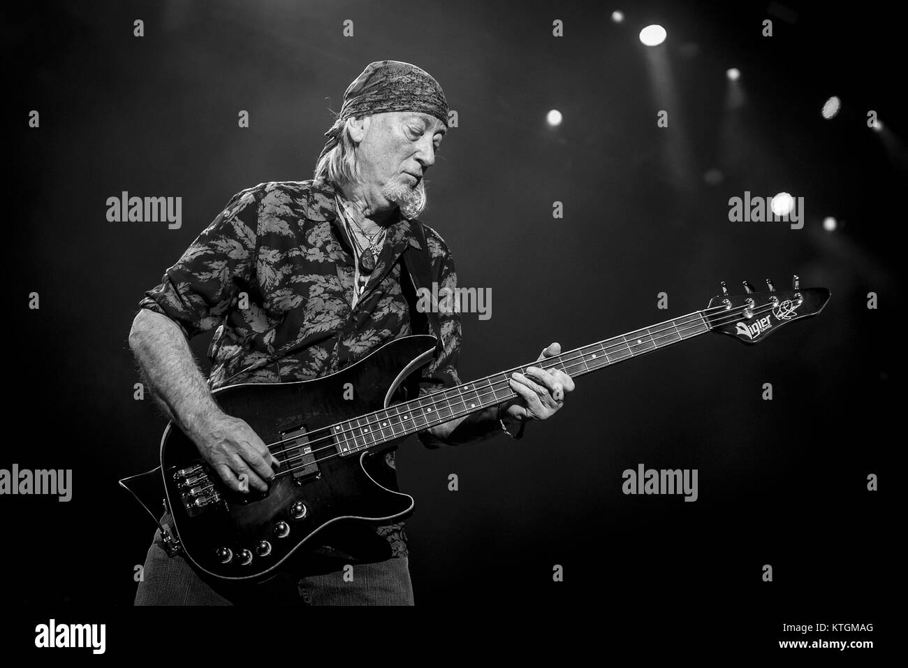 Deep Purple perform at the O2 Arena  Featuring: Roger Glover Where: London, United Kingdom When: 23 Nov 2017 Credit: Stock Photo