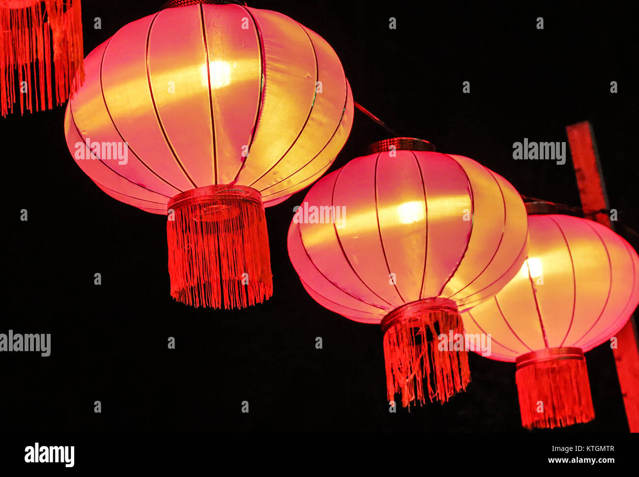 Chinese light festival Stock Photo