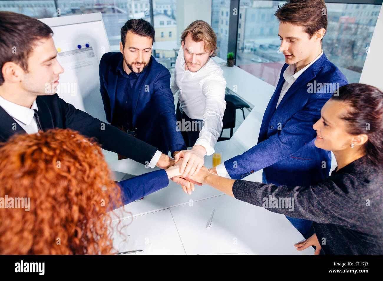 Business People Teamwork Collaboration Relation Concept - Stock Image