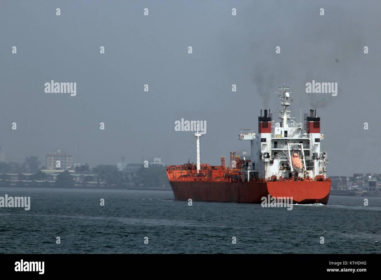 oil tanker - Stock Image