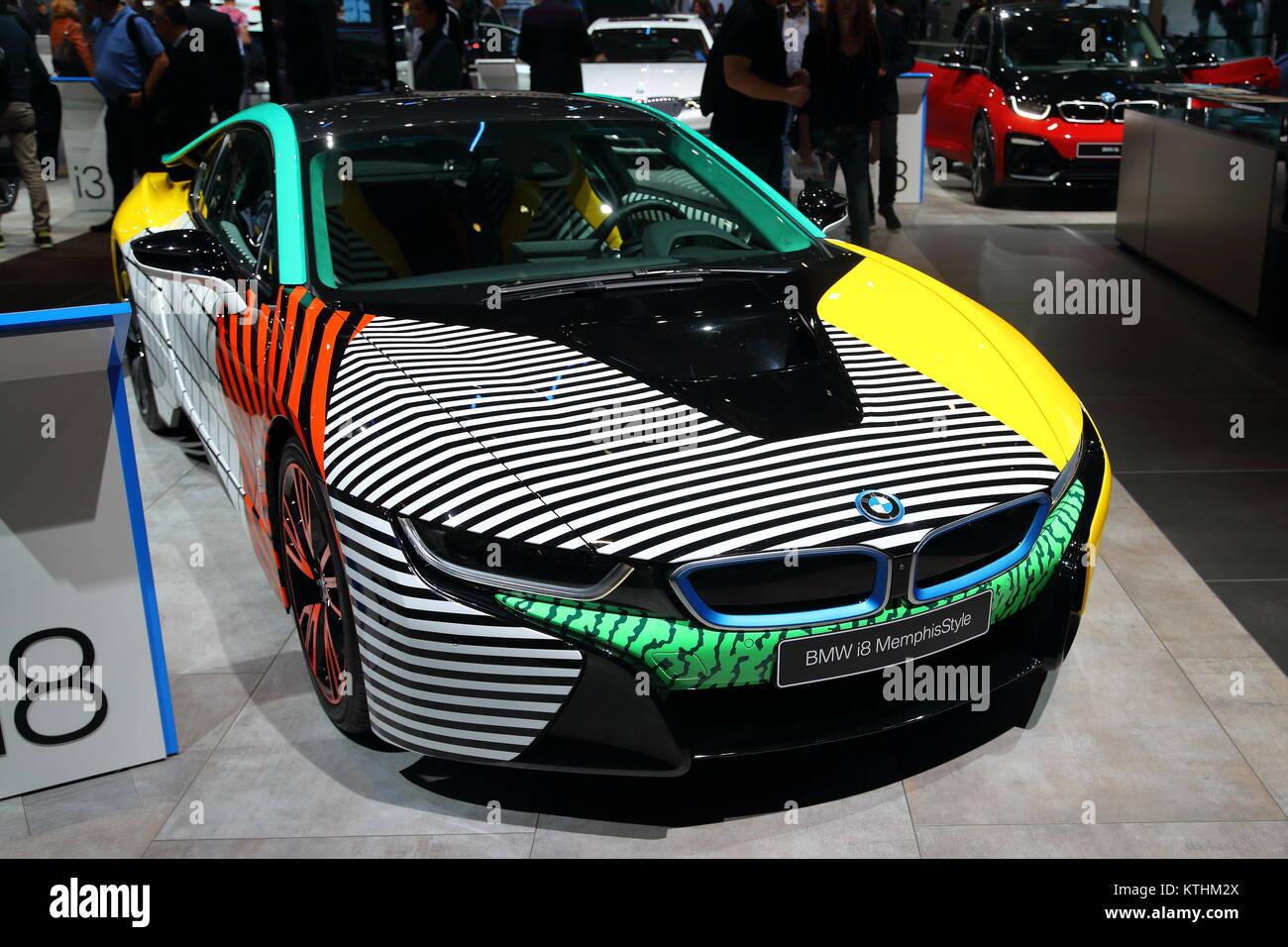 Bmw I8 Sports Car Stock Photos Bmw I8 Sports Car Stock Images Alamy