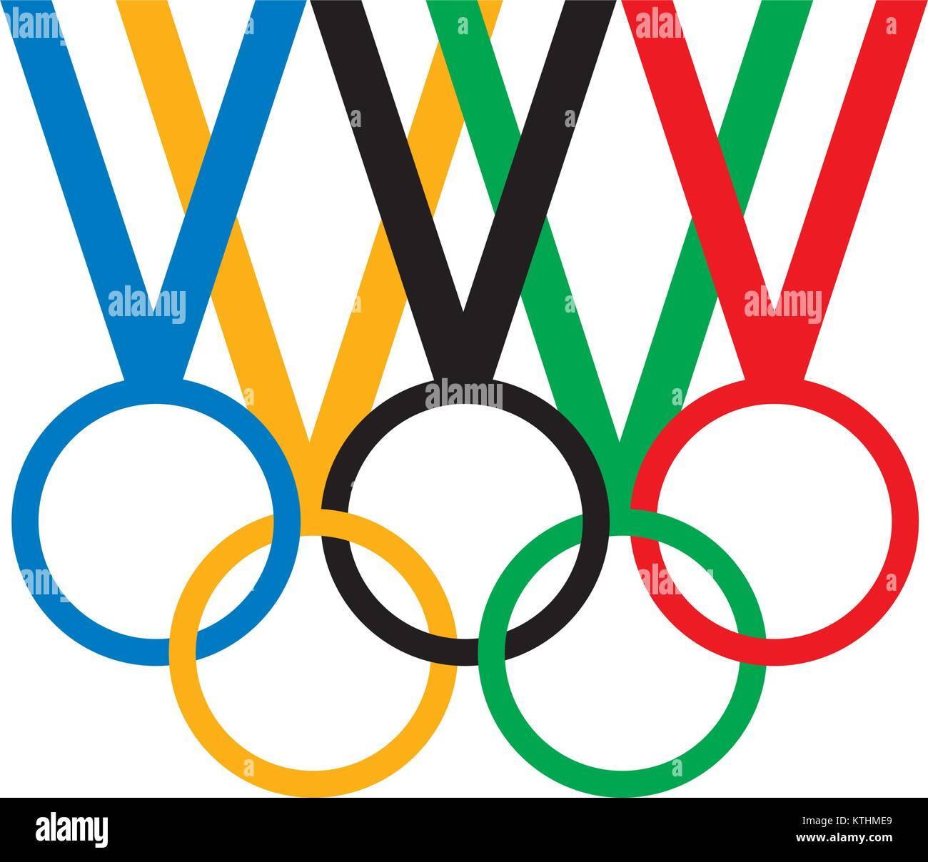 sign Olympic games - Stock Vector