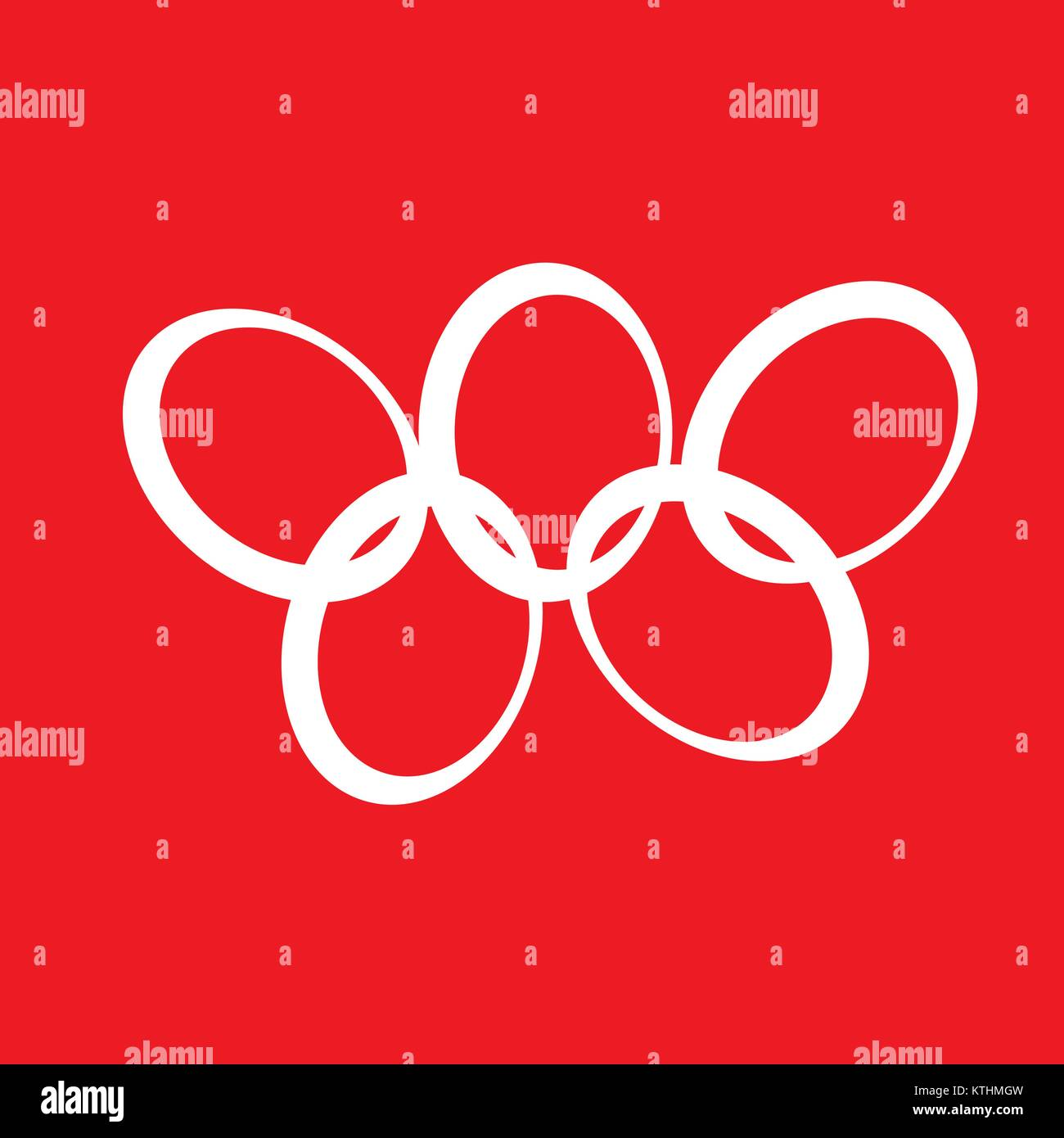 sign Olympic games Stock Vector