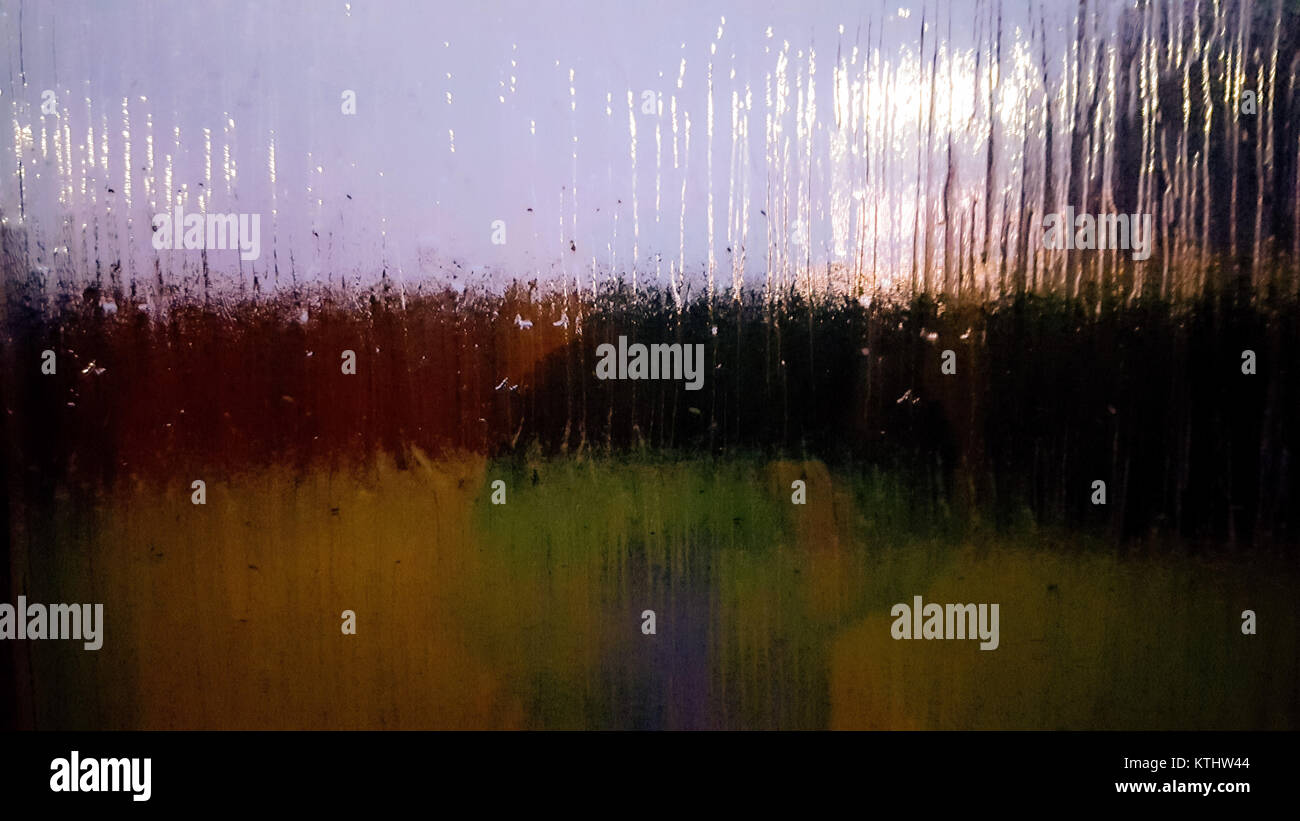 Digital art: reflection astract Stock Photo