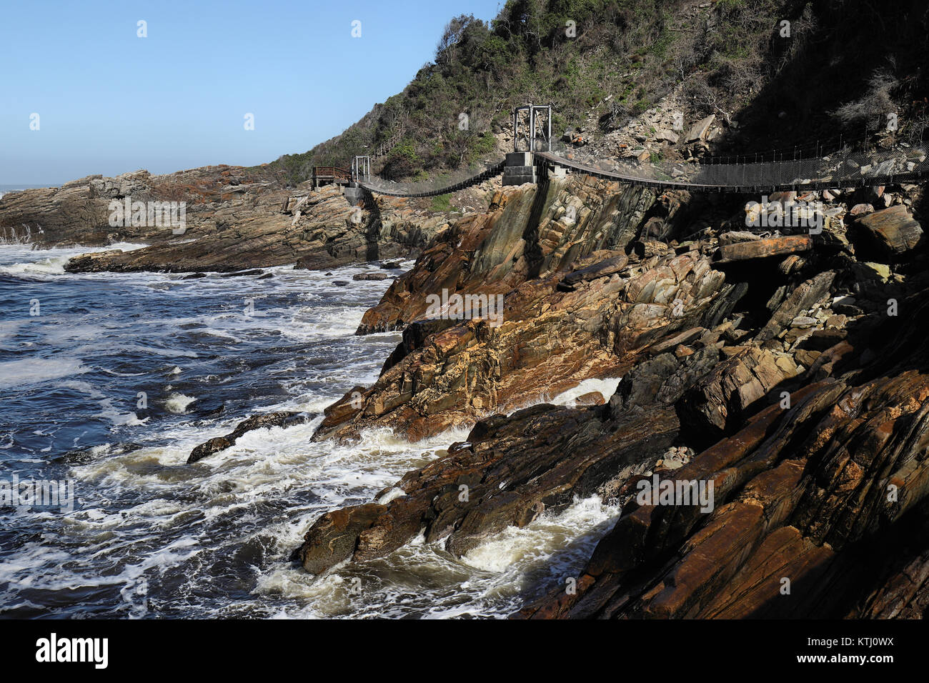Landscape of Tsitsikamma National Park at Garden Route, South Africa ...