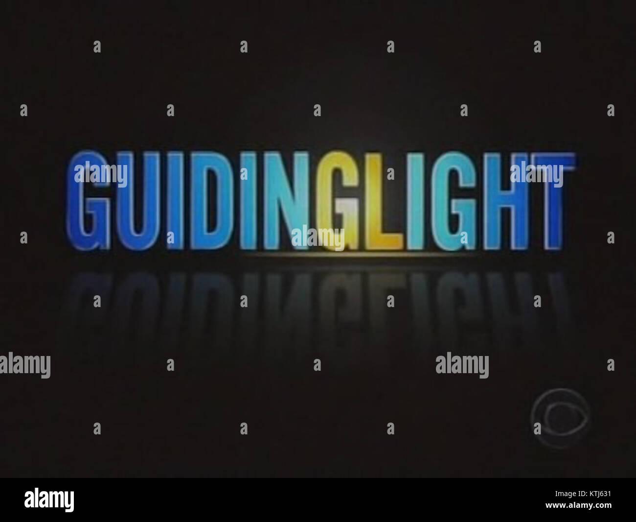 Guiding Light final logo - Stock Image