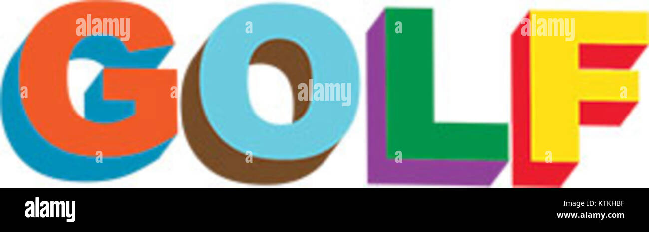 05f82bf5af24b0 Golf Wang Logo Stock Photo  170075795 - Alamy