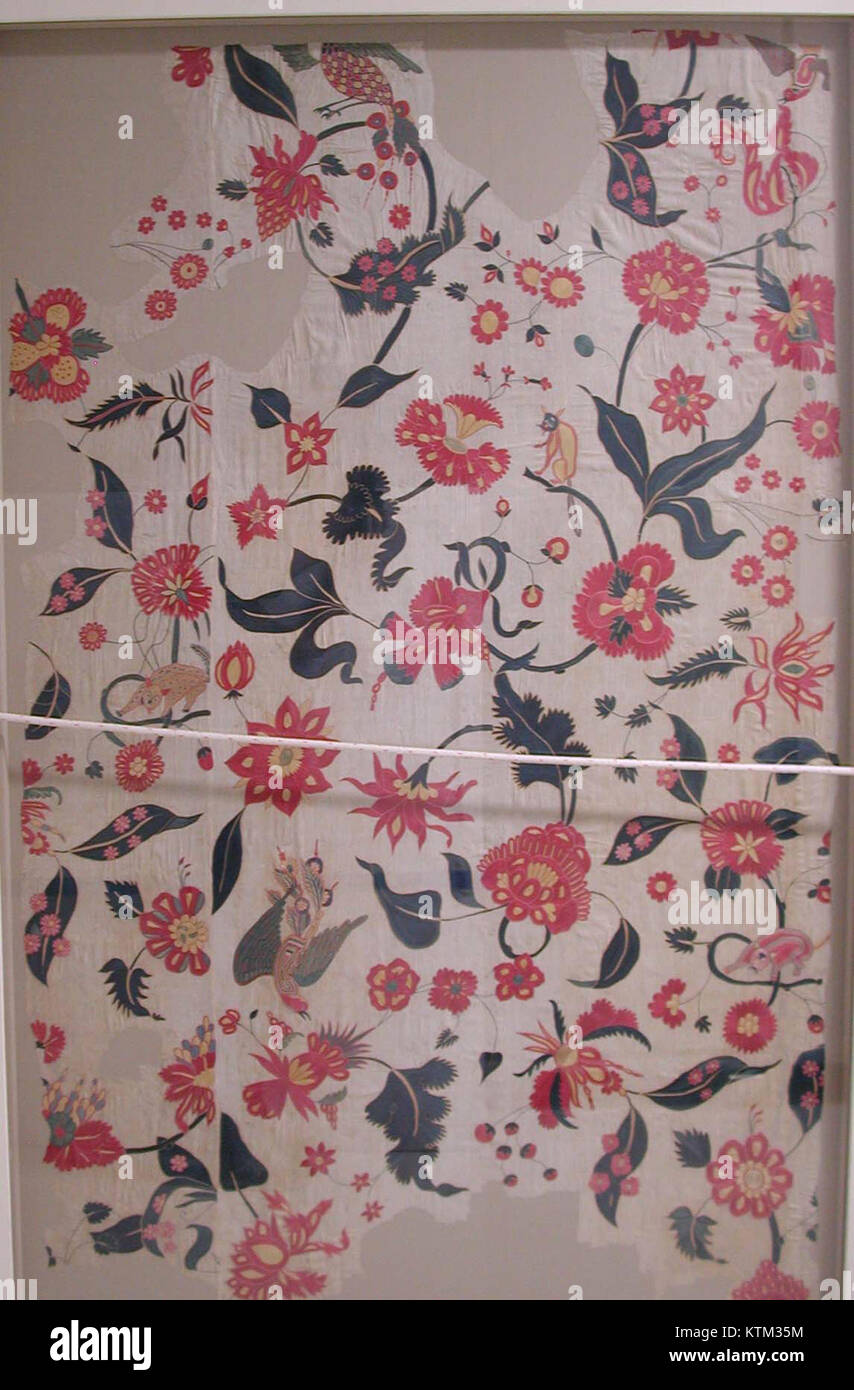 Bed Cover or Wall Hanging MET wb 54.21f Stock Photo