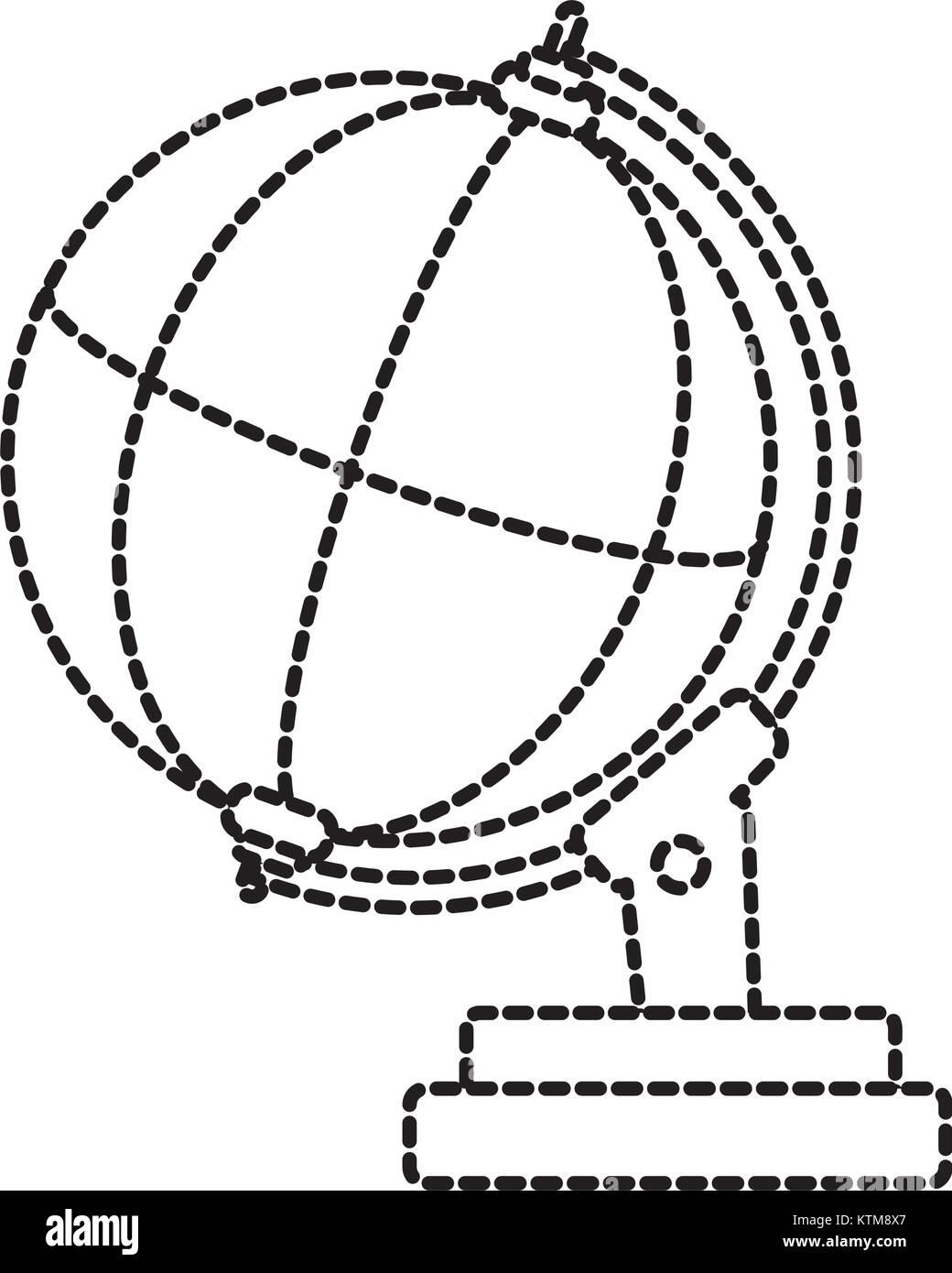 Global sphere design - Stock Vector