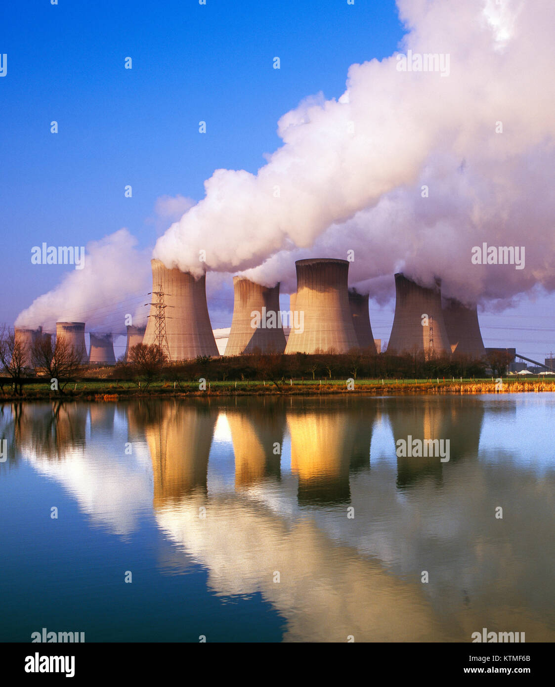 Drax coal fired Power Station, Yorkshire, England, UK Stock Photo