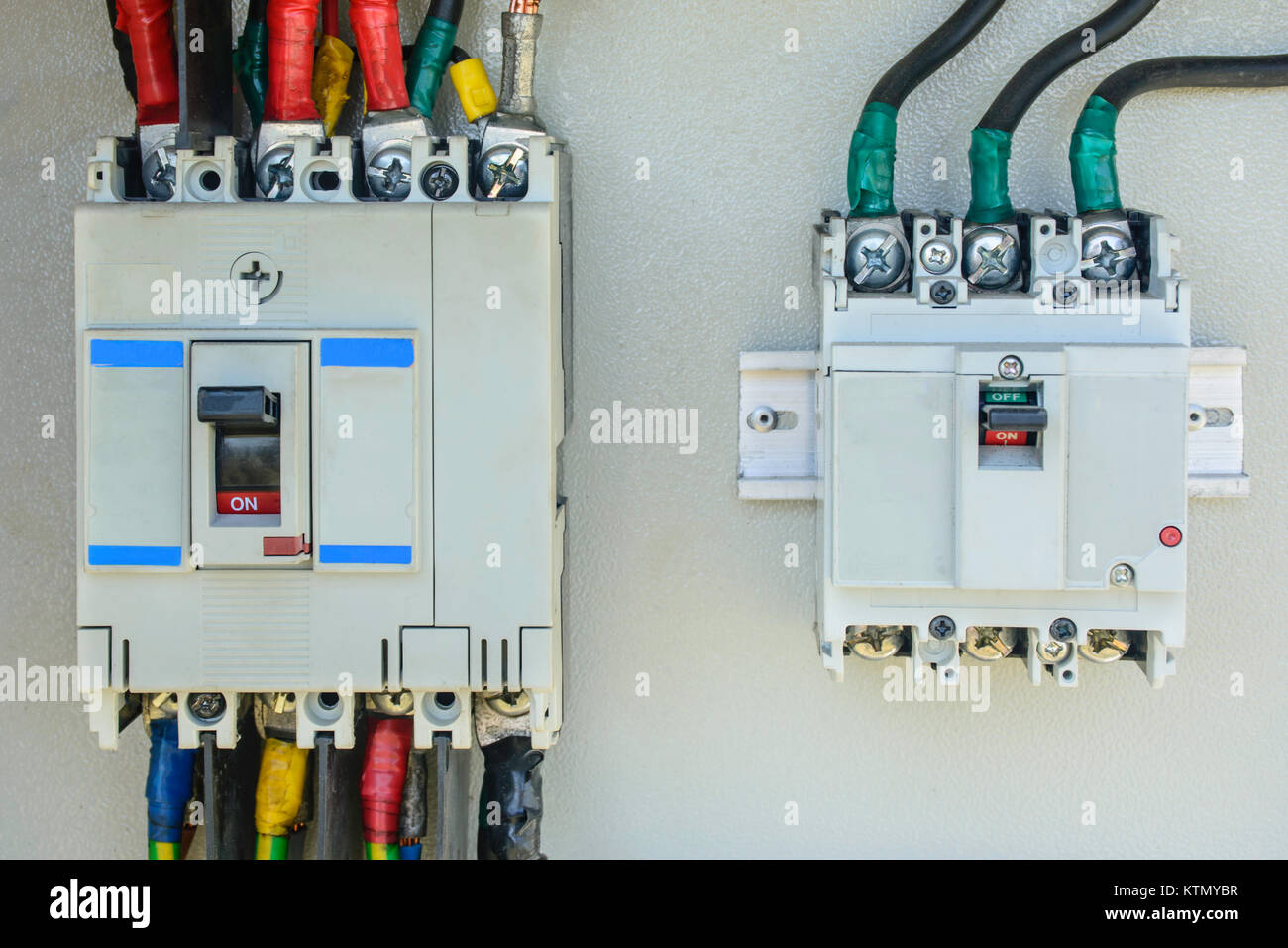 Fuse Box Circuit Breaker Stock Photos Wiring A Home Photo Of Electric Image