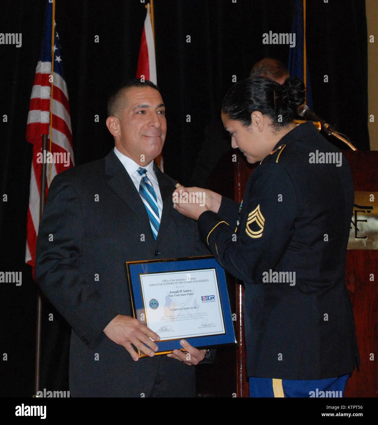 New York Army National Guard Sgt  1st Class  Juanita Salas