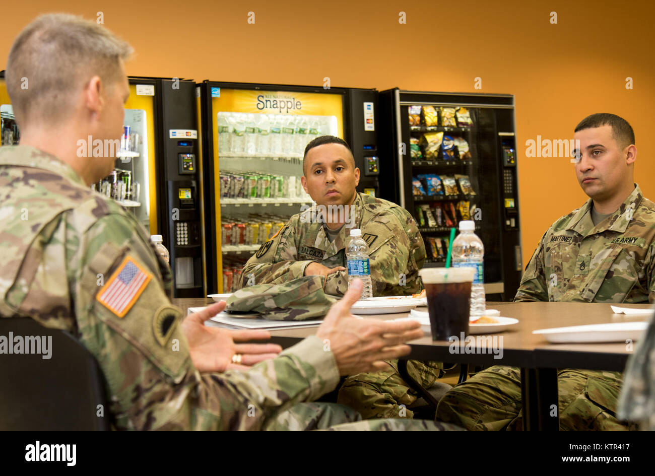 Lt. Gen. Daniel R. Hokanson, the deputy commander, U.S. Northern Command, and vice commander, U.S. Element, North Stock Photo