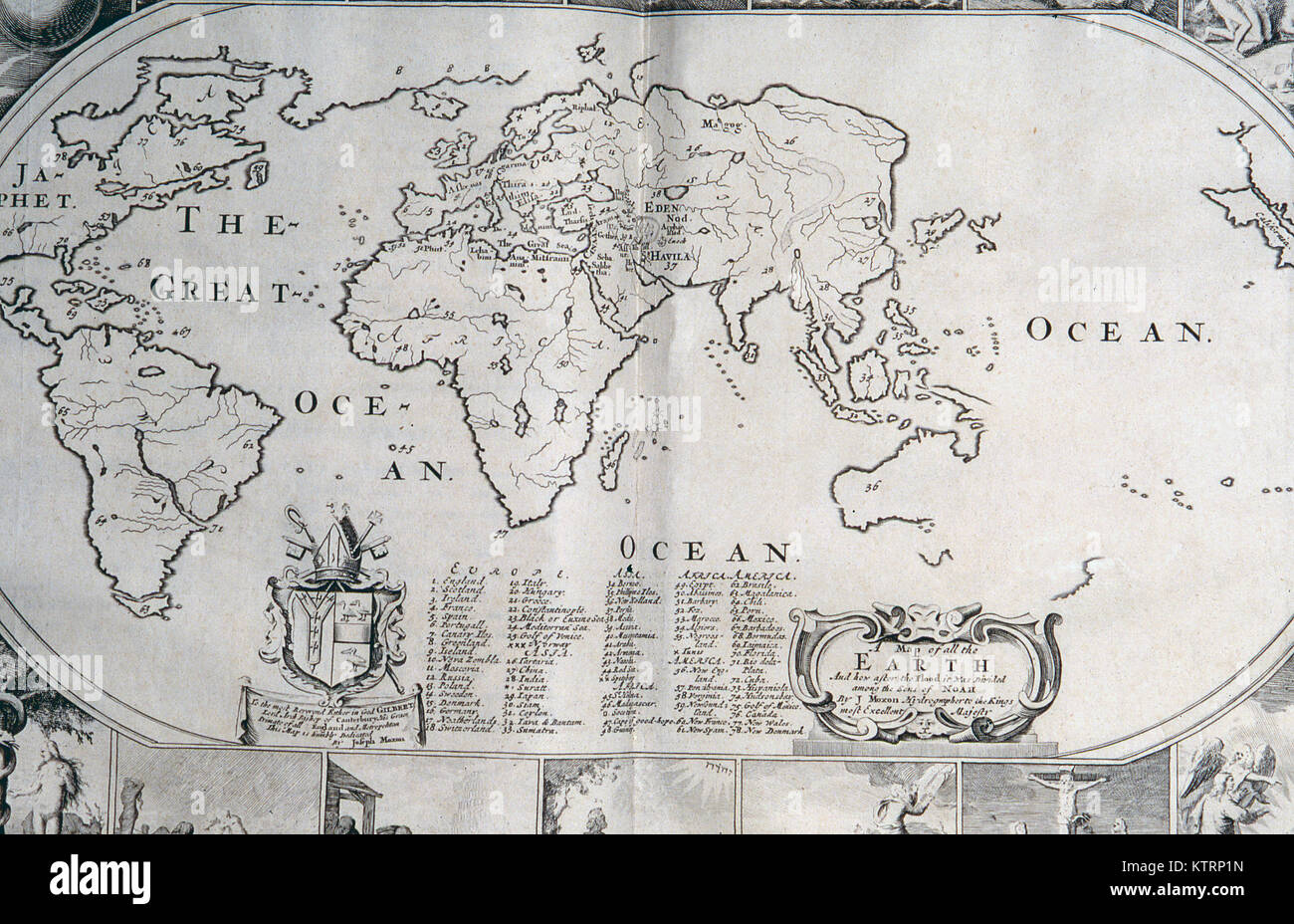 New zealand map stock photos new zealand map stock images alamy 1770 world map without new zealand or the east coast of australia courtesy of the gumiabroncs Choice Image