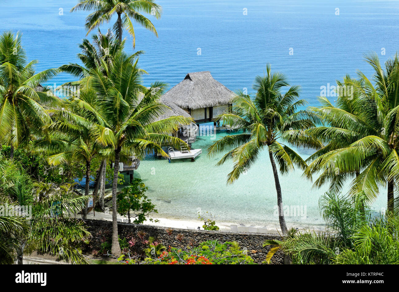 Bora Bora, French Polynesia - Stock Image