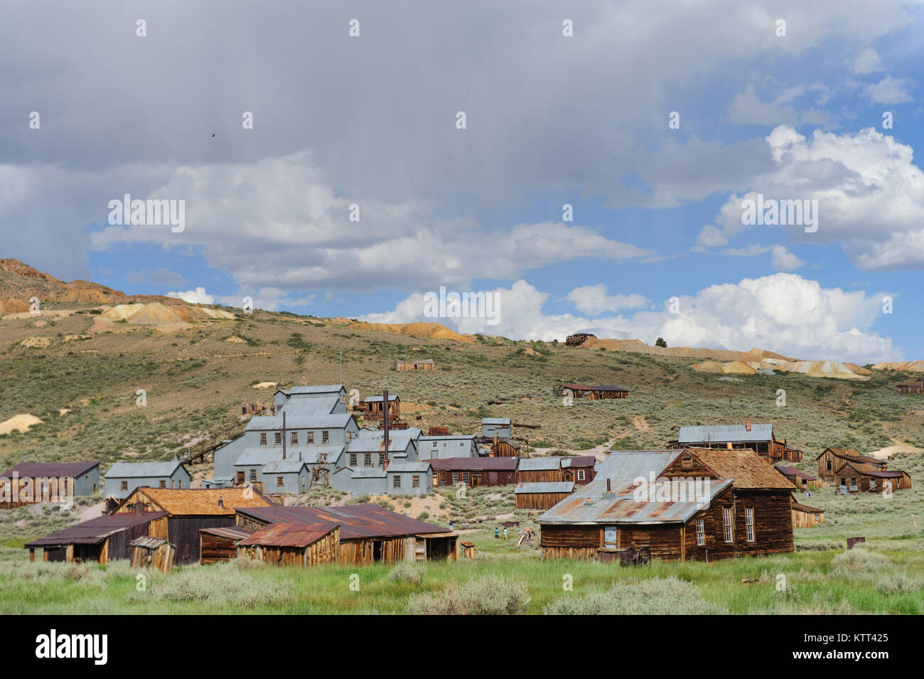 The Californian Ghost Town of Bodie - Stock Image