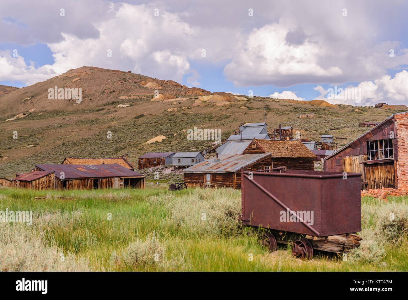 Leftover Mining Equipment - Stock Image