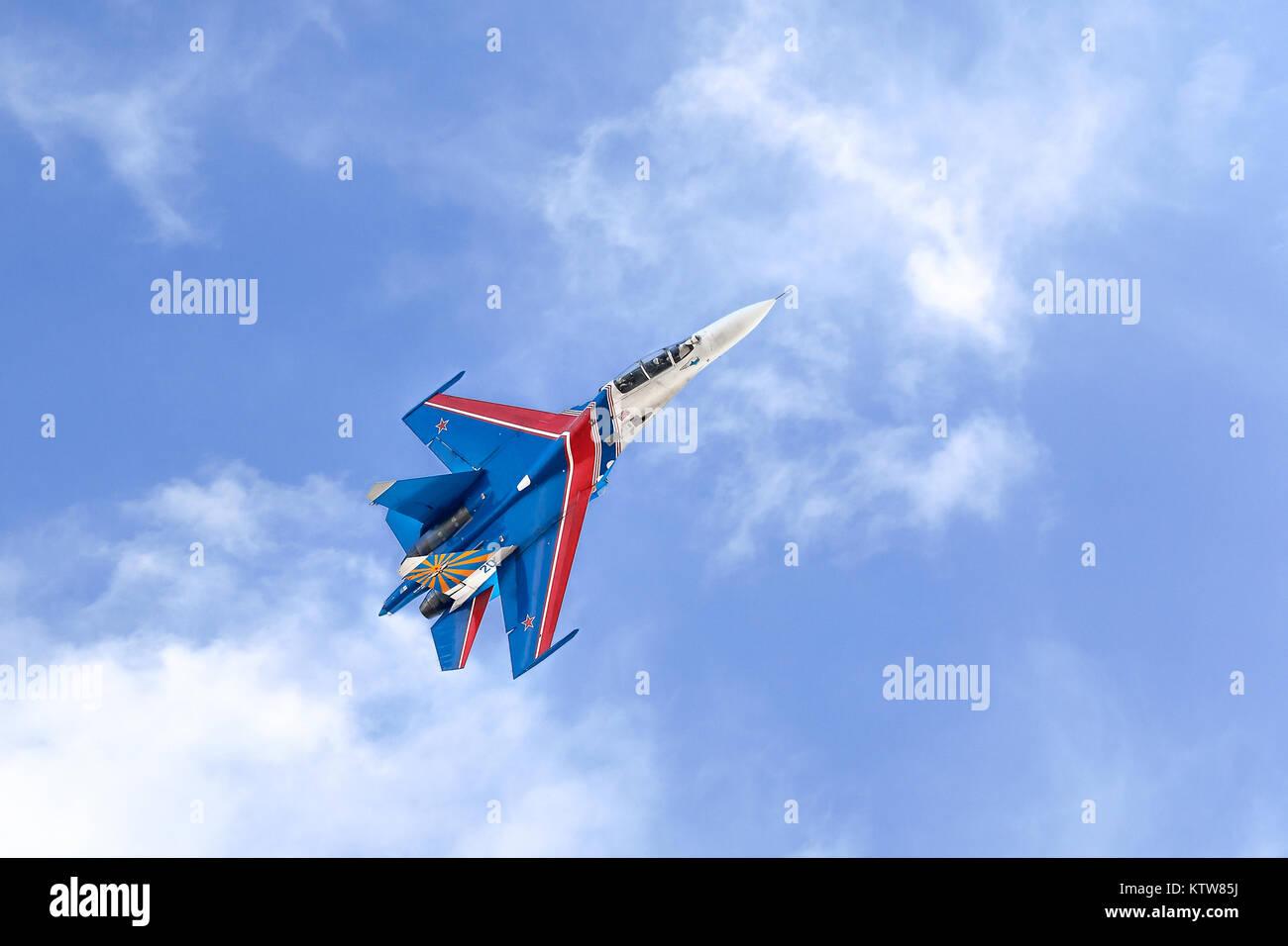 Russian aerobatic team - Stock Image