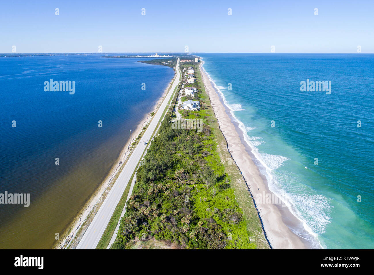 Florida State Road A1a Stock P...