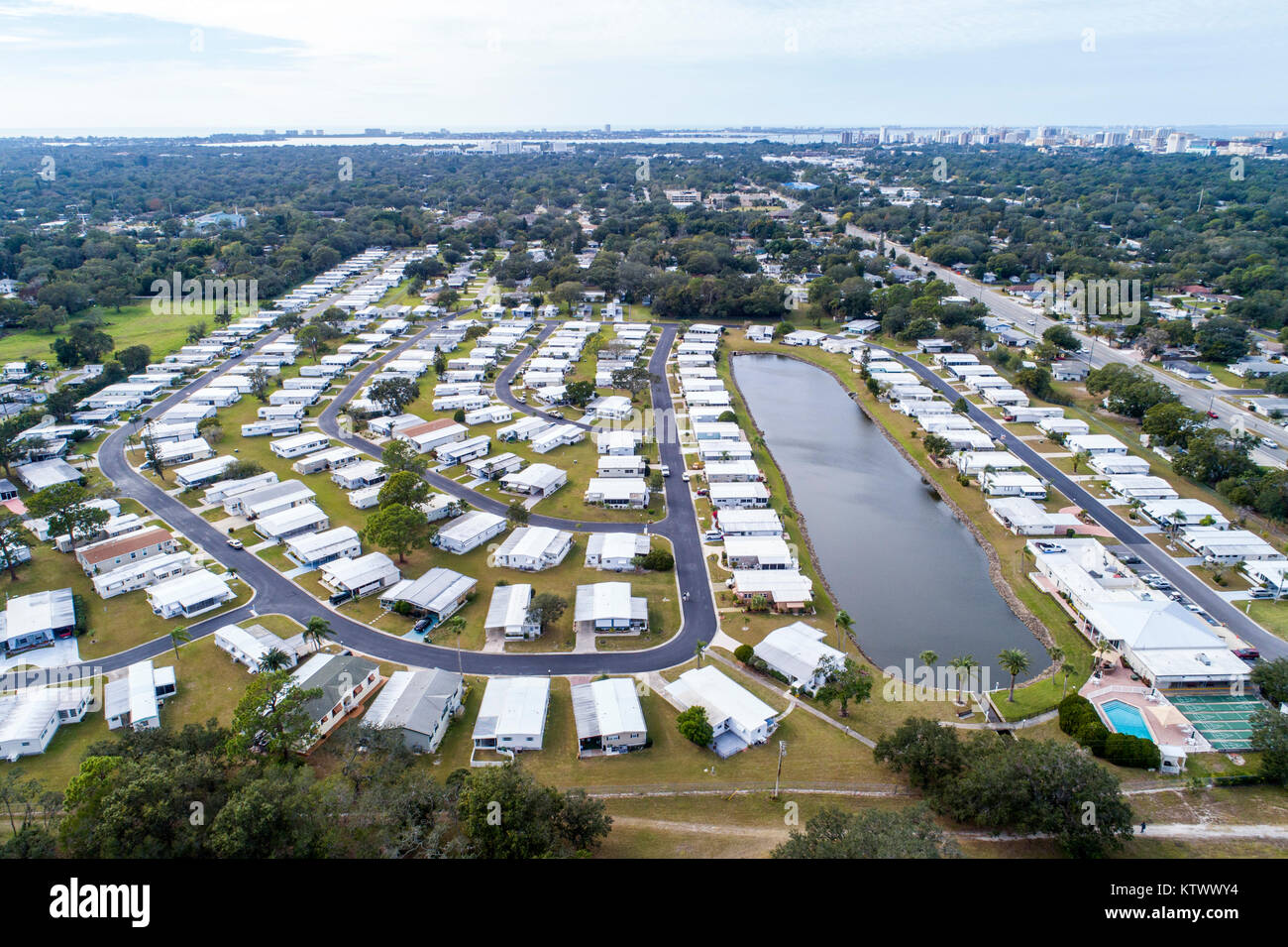 Florida Sarasota Saralake Estates Mobile Home Park aerial overhead on rv parks sarasota fl, marinas sarasota fl, mobile home parks san jose ca, gated communities sarasota fl, mobile home parks tulsa ok, apartments sarasota fl,
