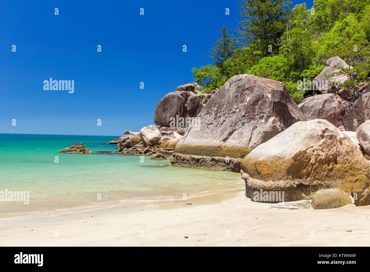 Radical Bay, magnetic Island,  Australia - Stock Image