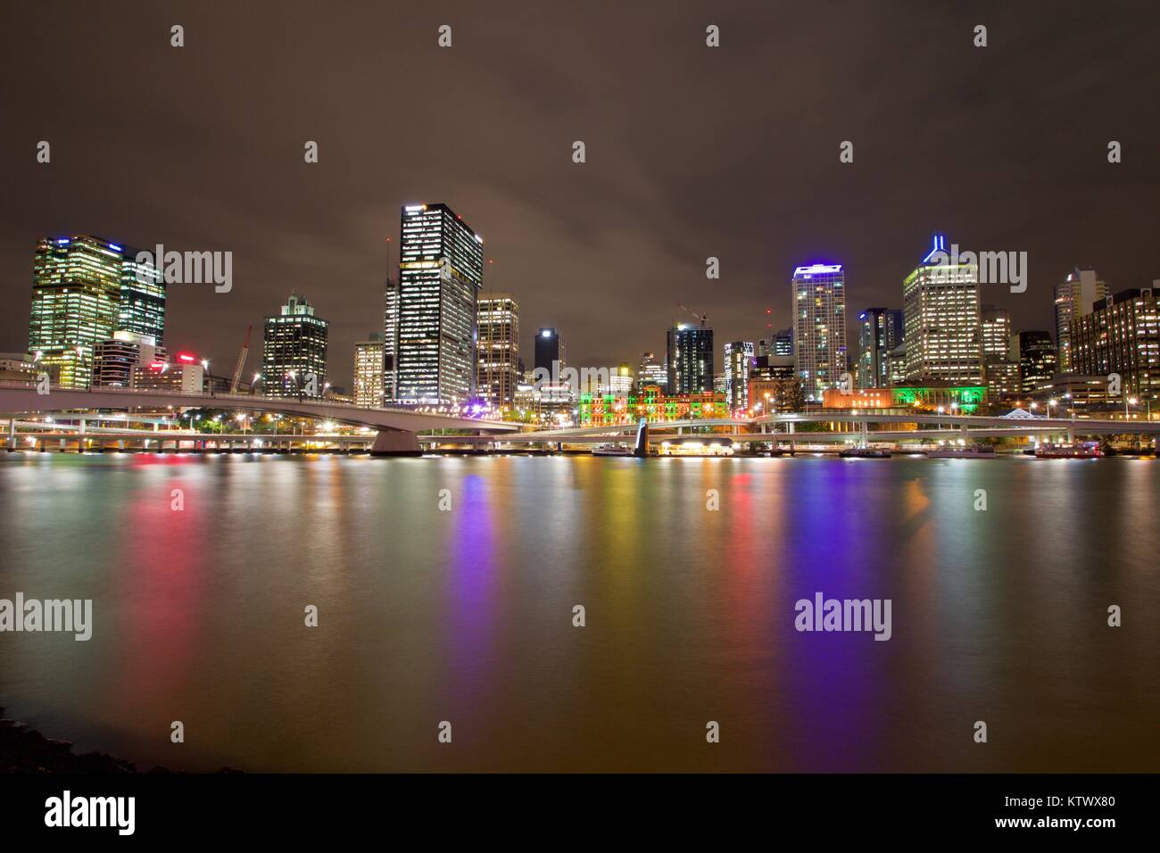 Brisbane city, Australia - Stock Image