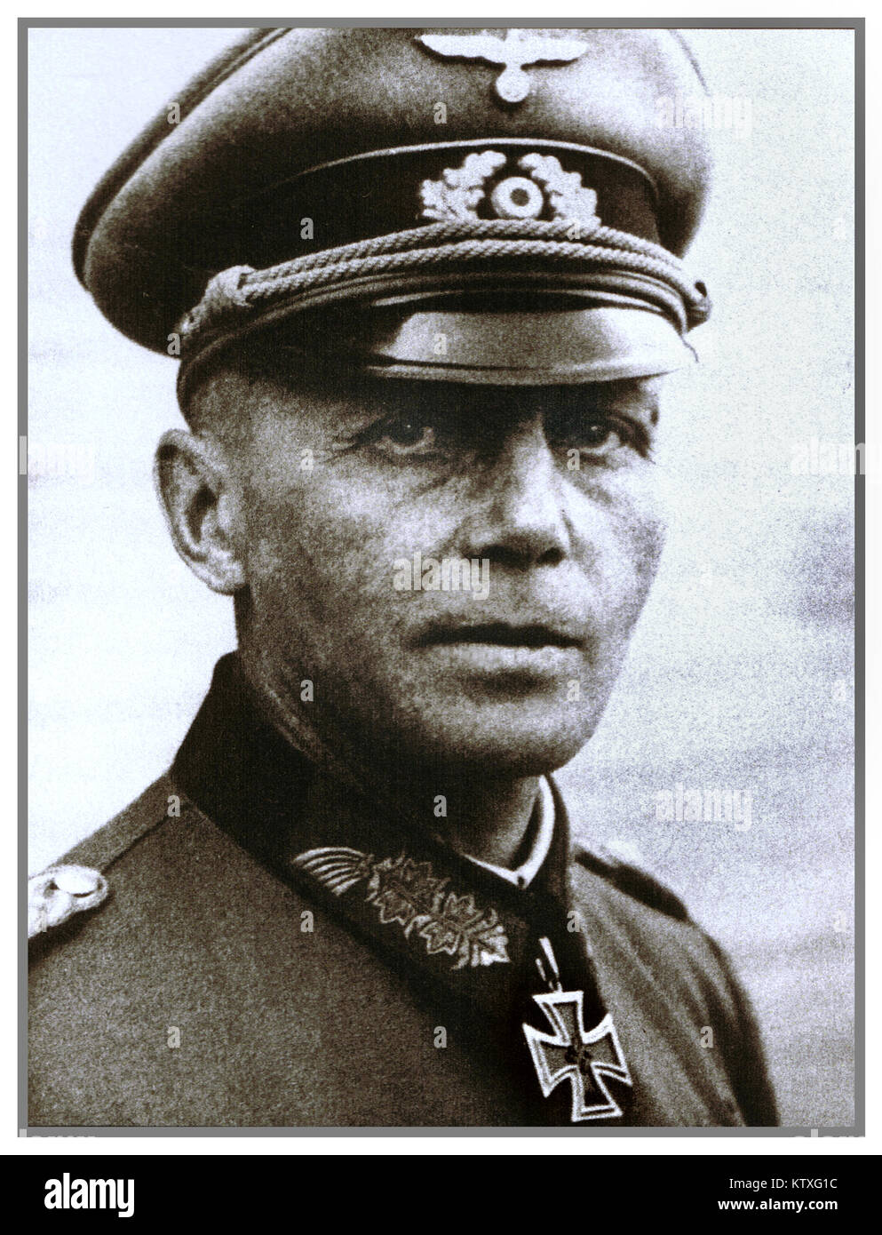 Karl von Graffen (6 June 1893 – 1 November 1964) was a German general during World War II who held divisional and - Stock Image